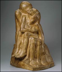 LOVERS Or is Käthe Kollwitz's sculpture a mother and child?