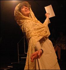 A WINNER Joanne Fayan as Mame.