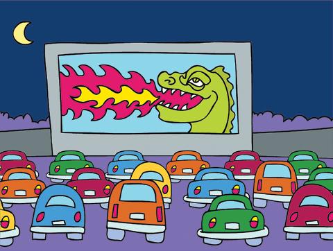Drive-inMovieThearterIllo_m