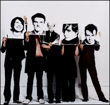 INSIDERS Despite their name, Art Brut make devilishly funny rock music about rock music