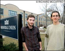 TARGETED URI's drug and alcohol policies strike critics, including Daigle and Butterworth, as a trap luring students into confrontations with the law.