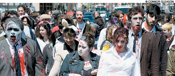 Boston Zombie March