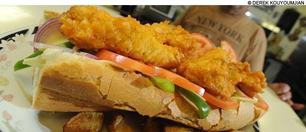 best chicken patty at Grove Hall Convenience in Dorchester