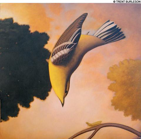Trent Burleson exhibit at Newport Art Museum