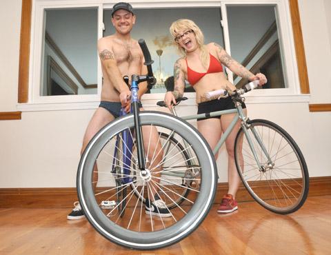 We Like Bikes this much!